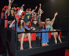 7D Cinema - Virtual Reality - Accommodation Airlie Beach