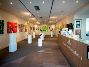 Australian National Botanic Gardens Visitor Centre Gallery - Accommodation Airlie Beach